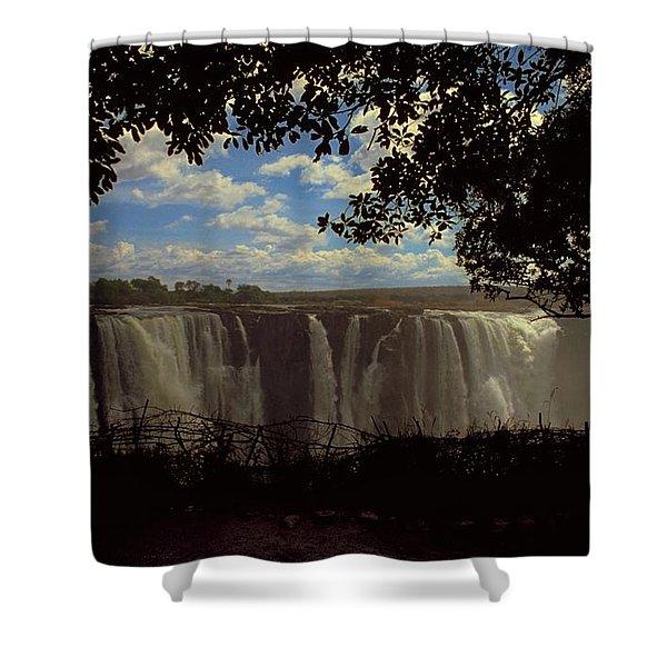 Victoria Falls, Zimbabwe Shower Curtain