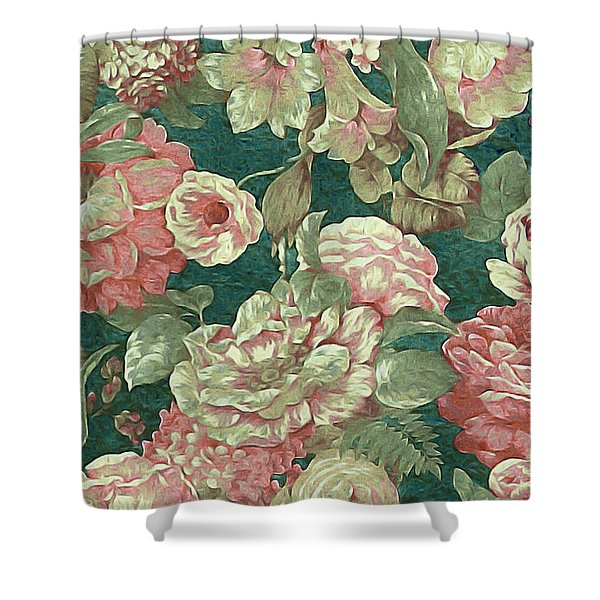 Victorian Garden Shower Curtain