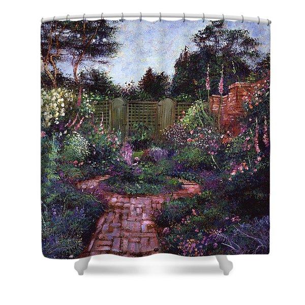 Victorian Secret Garden Shower Curtain