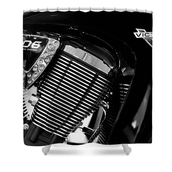 Victory Bw V1 Shower Curtain