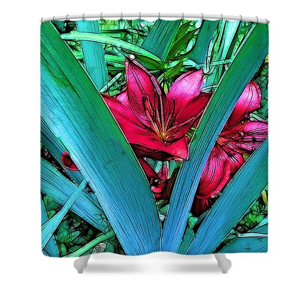 Victory Garden Shower Curtain