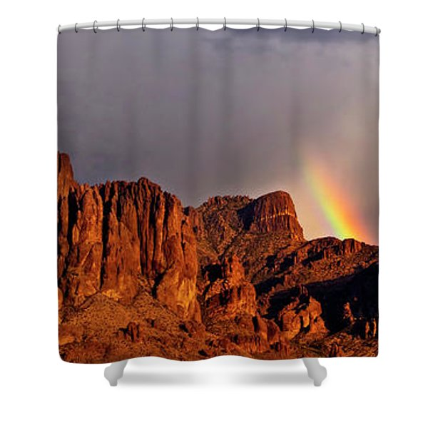 Victory In The Storm Shower Curtain