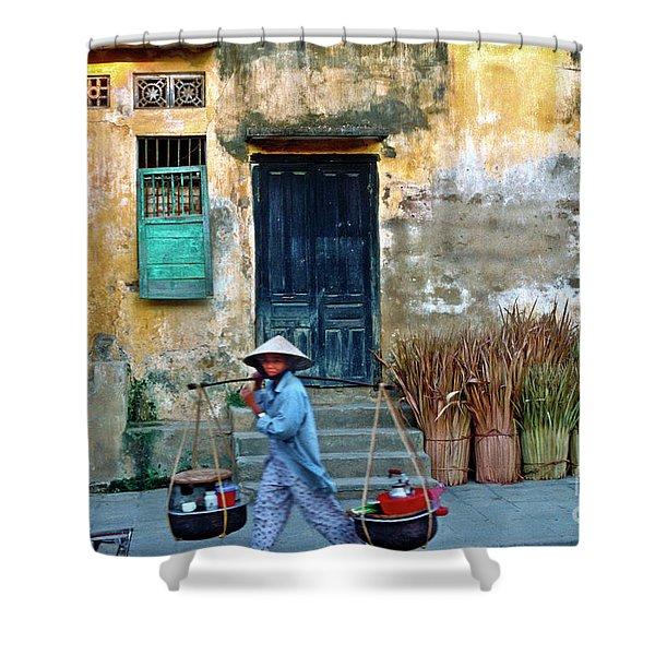 Vietnamese Street Food Sound Shower Curtain