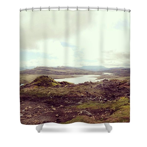 Old Man Of Storr - View Shower Curtain