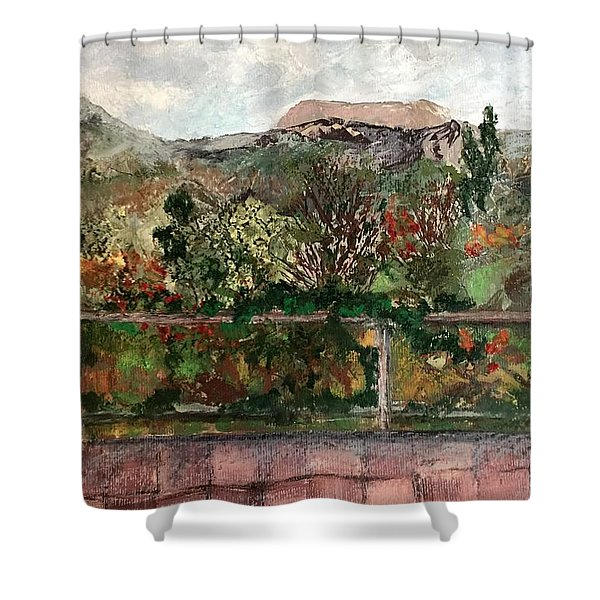View From The Deck Shower Curtain