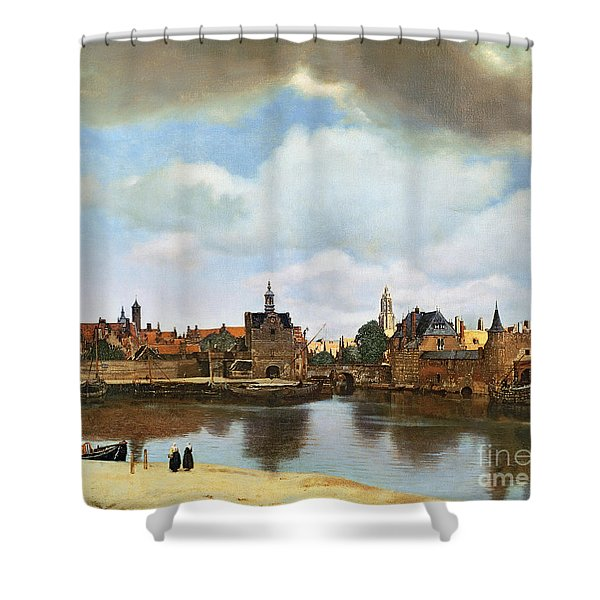 View Of Delft Shower Curtain