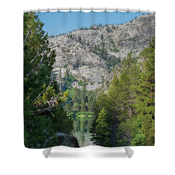 View Of Eagle Lake Shower Curtain