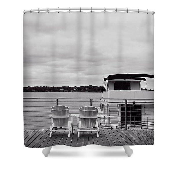 View Of Lake Minnetonka Shower Curtain