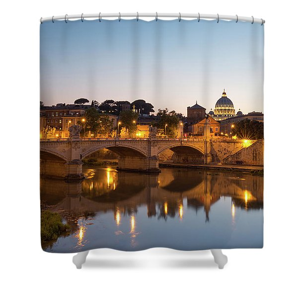 View Of Rome Shower Curtain