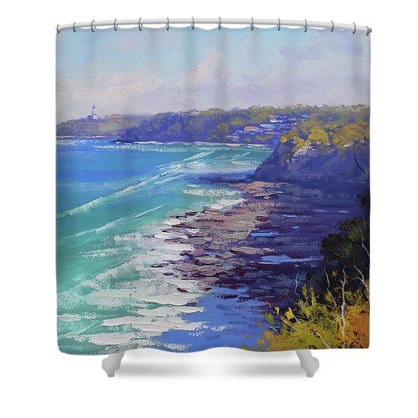 View To Norah Head Australia Shower Curtain