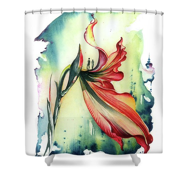 Viewpoint Shower Curtain