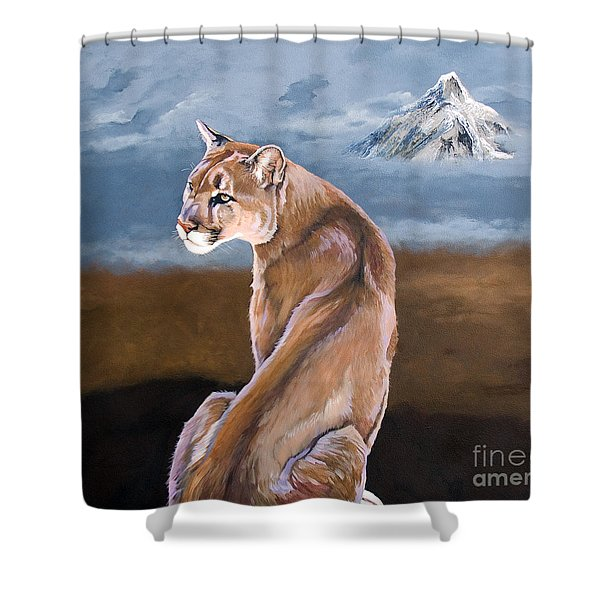 Vigilance Shower Curtain