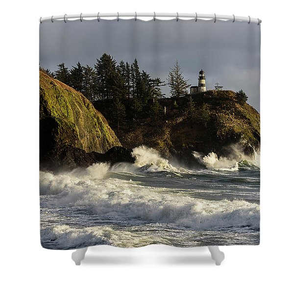 Vigorous Surf Shower Curtain