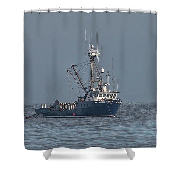 Viking Fisher 1 Shower Curtain