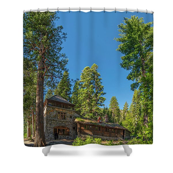 Vikingsholm - 2 Shower Curtain