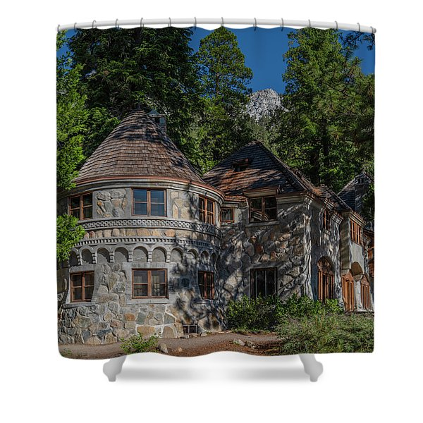 Vikingsholm Shower Curtain