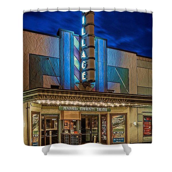 Village Theater Shower Curtain