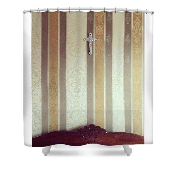 #vilnius #home #interior #wall Shower Curtain