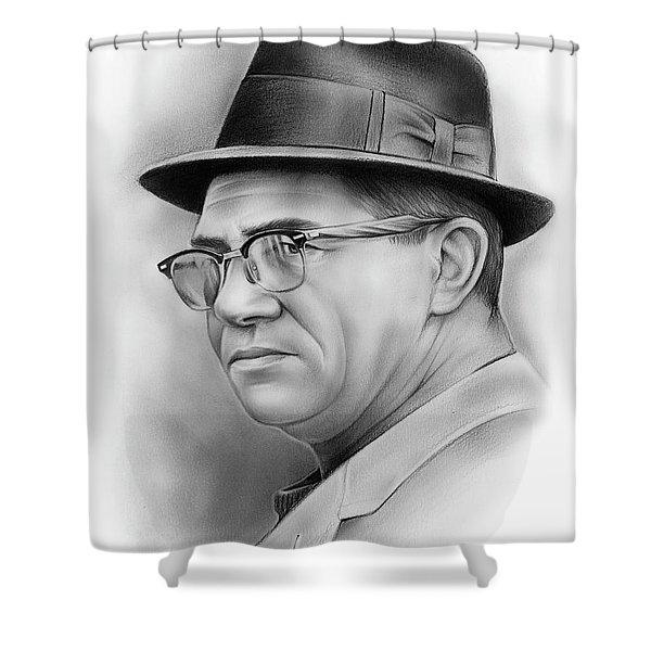 Vince Lombardi Shower Curtain