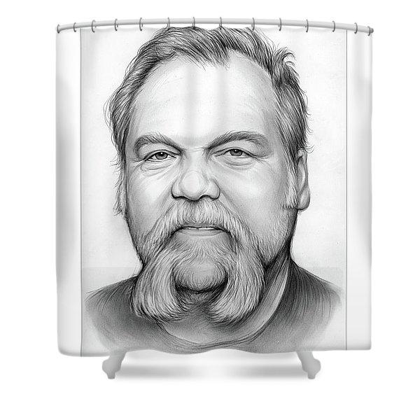 Vincent D Shower Curtain