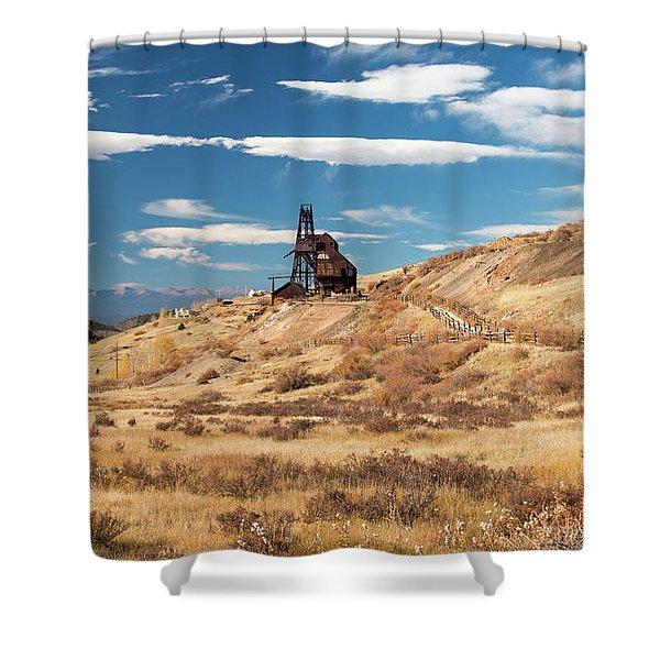 Vindicator Valley Mine Trail Shower Curtain