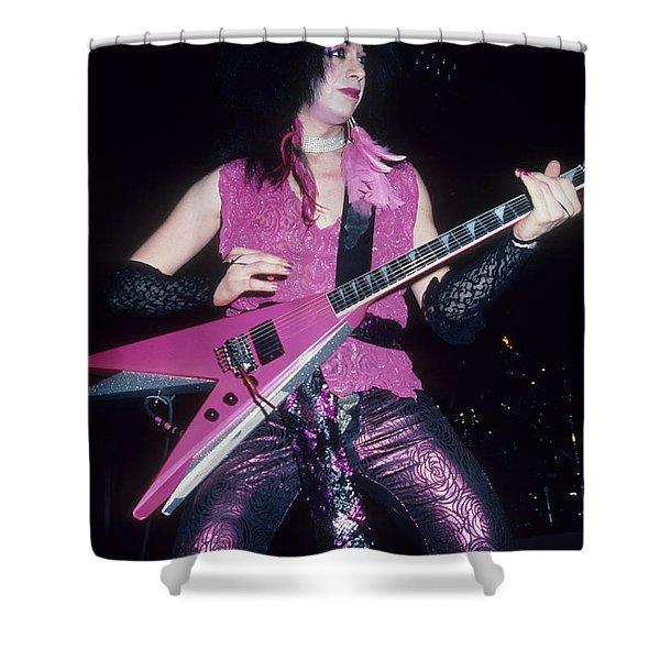 Vinnie Vincent Shower Curtain