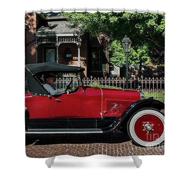 Shower Curtain featuring the photograph Vintage   by Andrea Silies