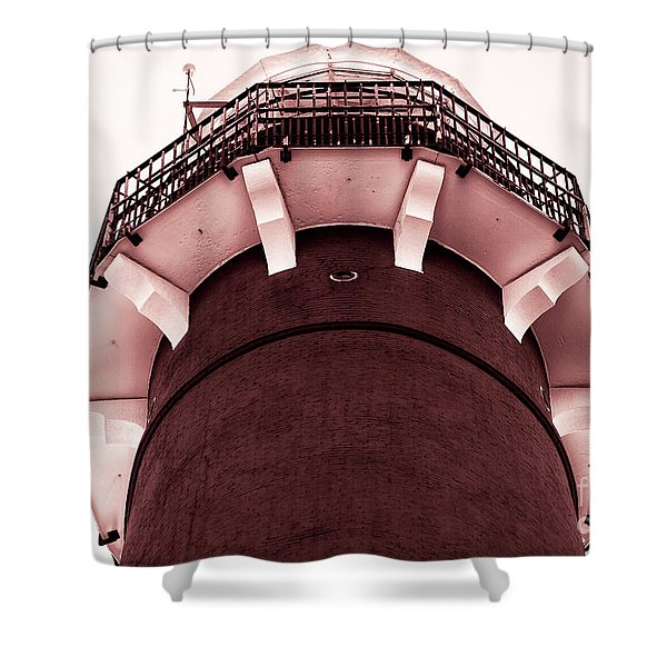 Vintage Barney Red Tone Shower Curtain