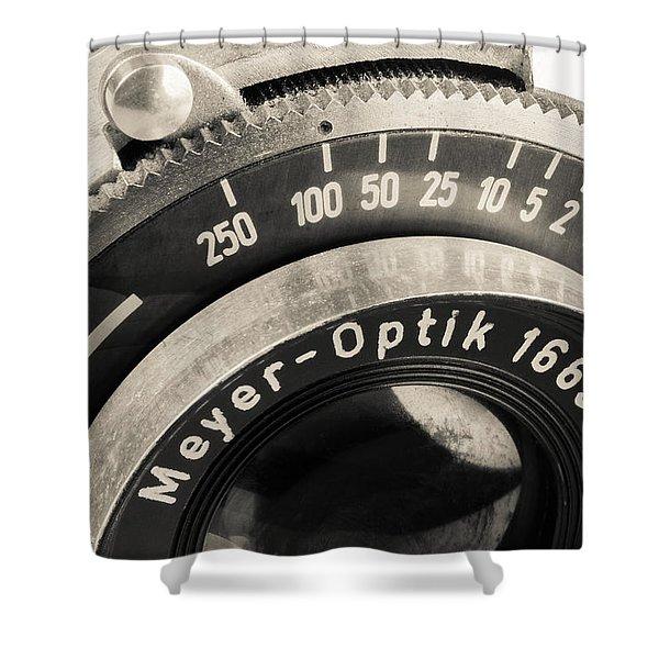 Vintage Camera -1 Shower Curtain