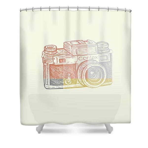 Vintage Camera 2 Shower Curtain