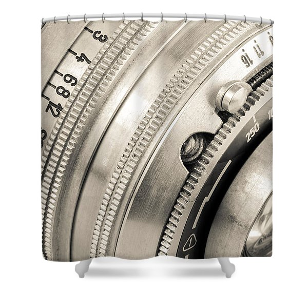 Vintage Camera -2 Shower Curtain