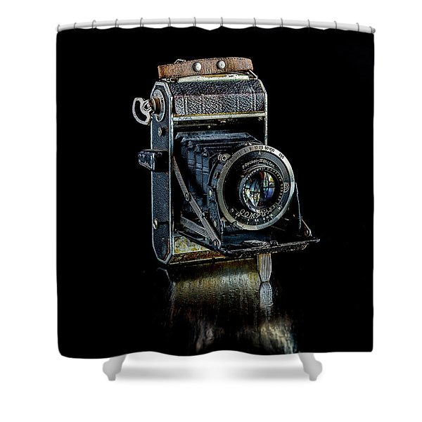 Vintage Camera  Shower Curtain
