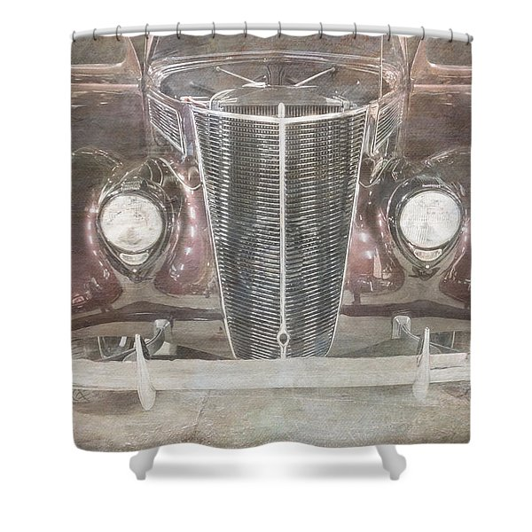 Vintage Classic Shower Curtain