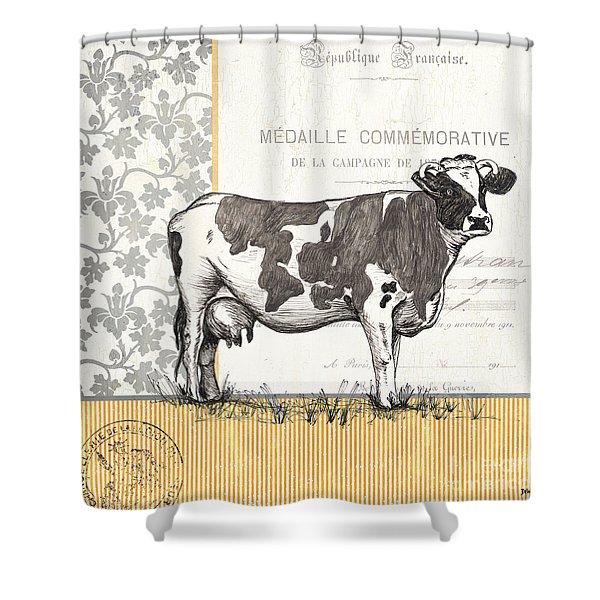 Vintage Farm 4 Shower Curtain
