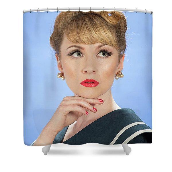 Vintage Glamour Shower Curtain