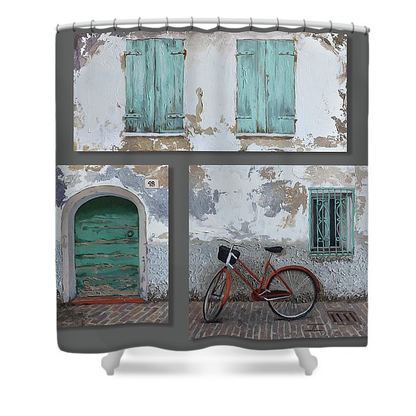 Vintage Series All 3 In 1 Shower Curtain