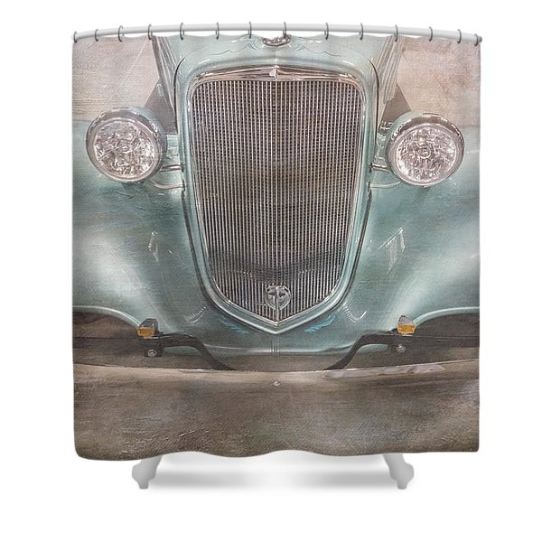 Vintage Jewel Shower Curtain