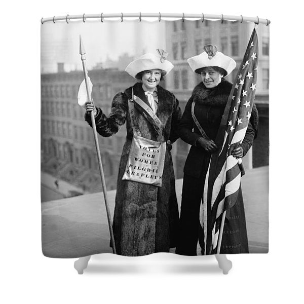 Vintage Photo Suffragettes Shower Curtain