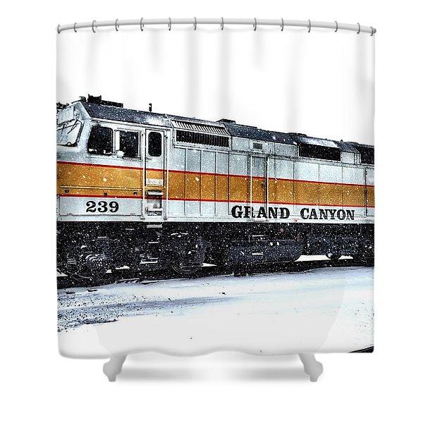 Vintage Ride Shower Curtain