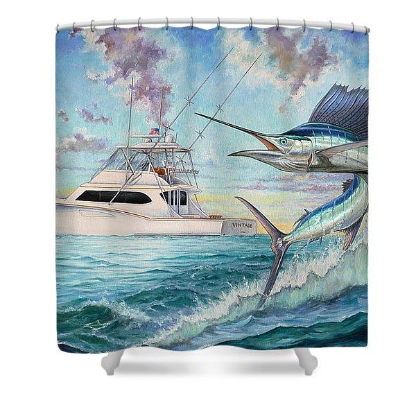Vintage Shower Curtain