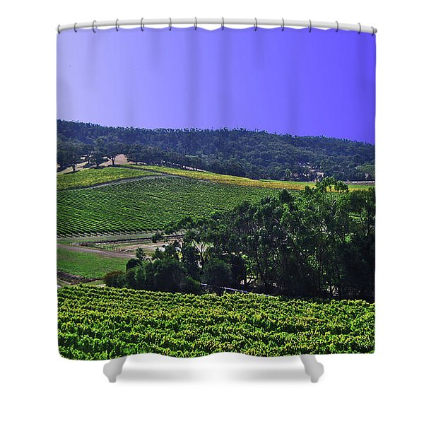 Vinyard Shower Curtain
