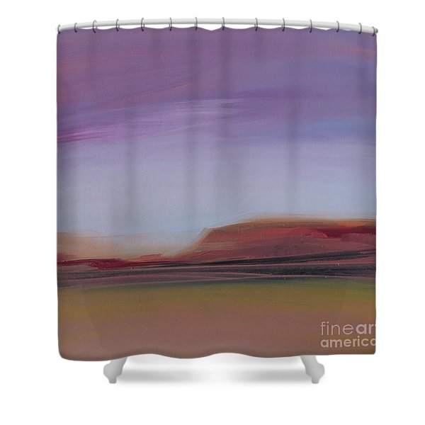 Violet Skies Shower Curtain