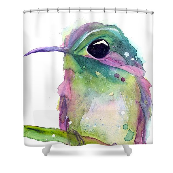 Violet's Rest Shower Curtain