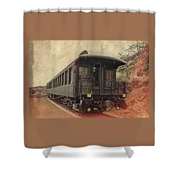 Virginia City Pullman Car Shower Curtain