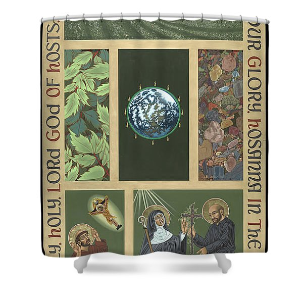 Viriditas - Finding God In All Things Shower Curtain