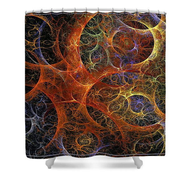 Virile Moment Shower Curtain