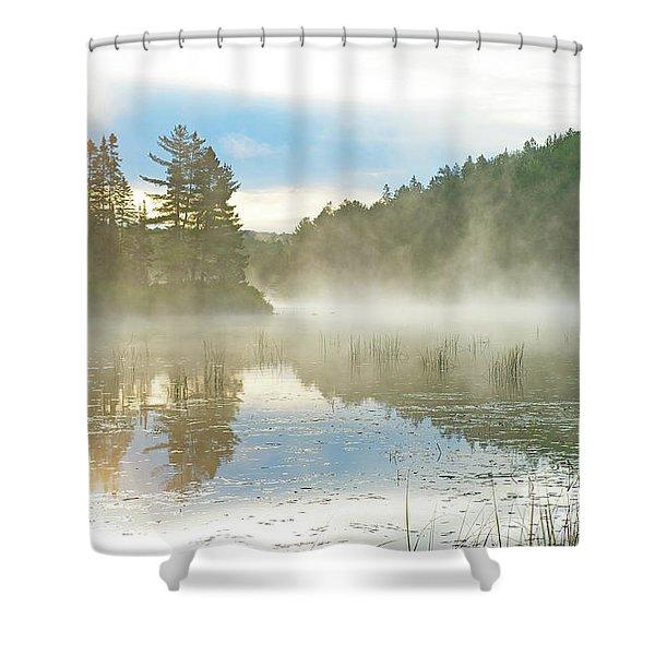 Visibility Zero.. Shower Curtain