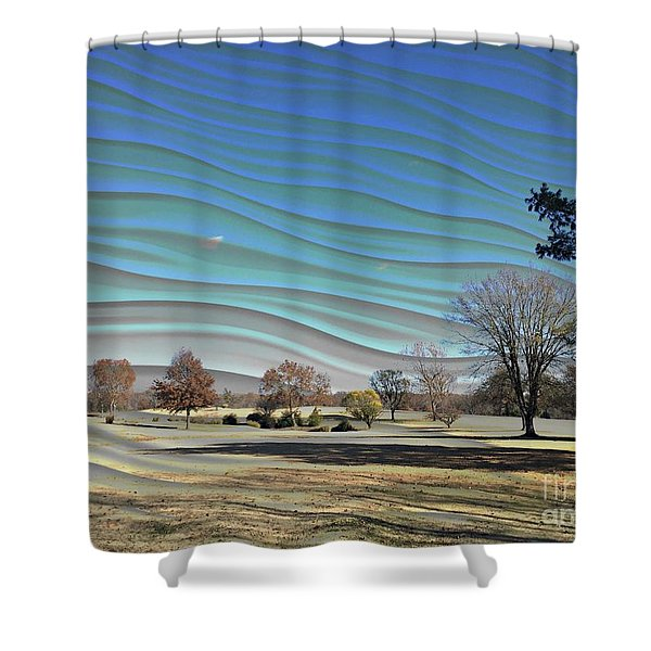 Visible Chill Shower Curtain