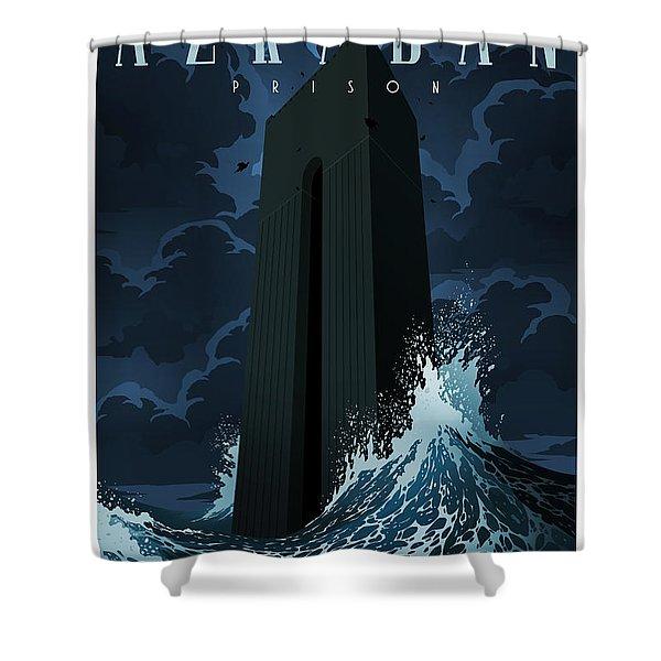 Visit Azkaban Shower Curtain