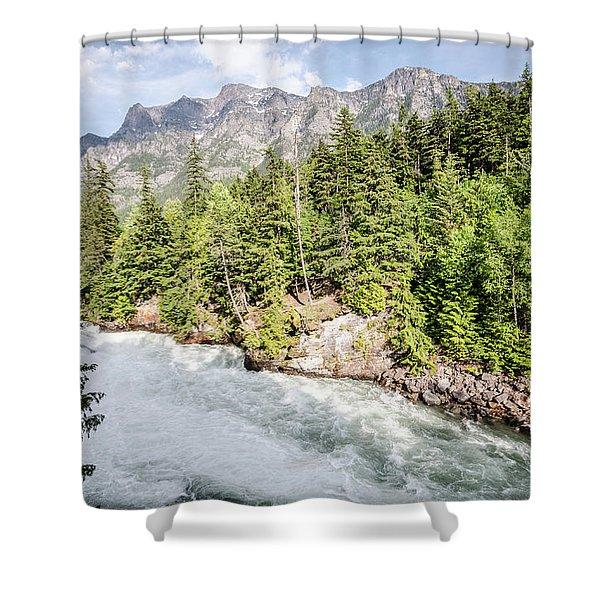Visit Montana Shower Curtain